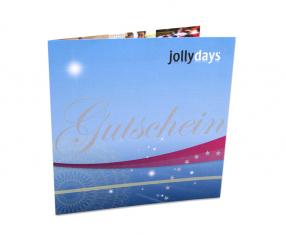 Jollydays Geschenkkuvert 1