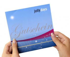 Jollydays Geschenkkuvert 3